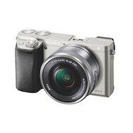 Фотоаппарат со сменной оптикой SONY ILCE A6000LS 16-50mm silver