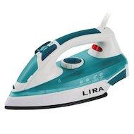 Утюг LIRA LR 0605 белый/голубой