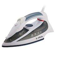 Утюг LIRA LR 0606 белый/серый