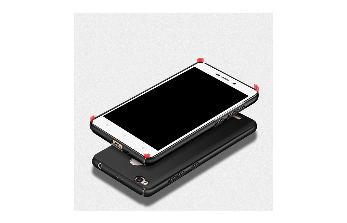 Чехол MSVll Coque для  Xiaomi Redmi 3 Pro black