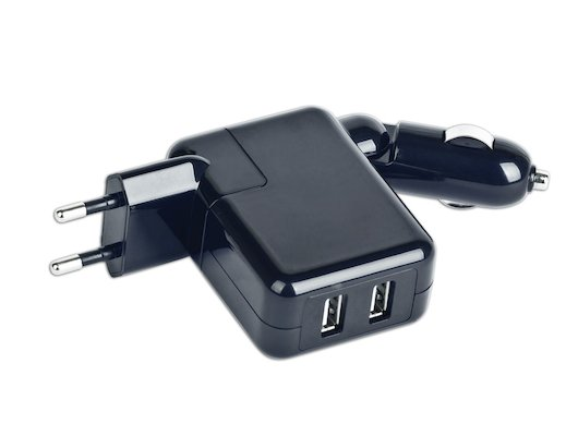 Зарядное устройство Gembird MP3A-UC-ACCAR 220V