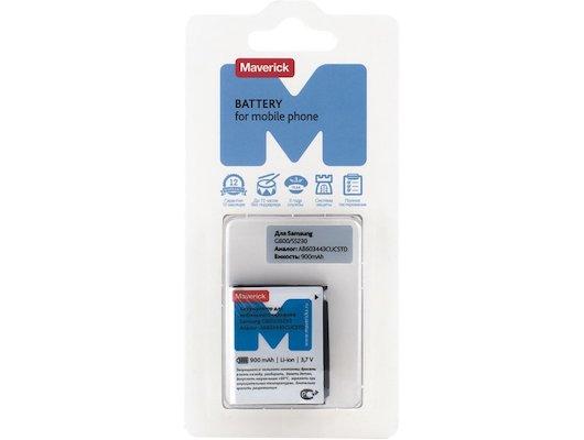 Аккумулятор Maverick Samsung G800/S5230/L810 Li-i 900mAh