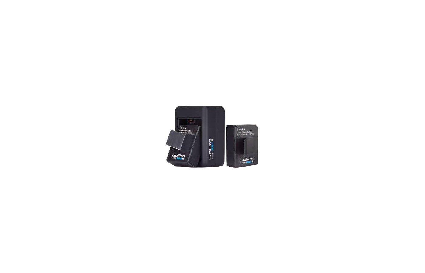 GoPro Зарядное устройство для 2-х батарей для Hero3 и Hero3+ AHBBP-301