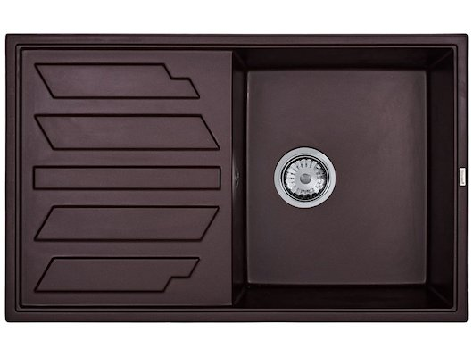 Кухонная мойка Weissgauff QUADRO 800 Eco Granit шоколад