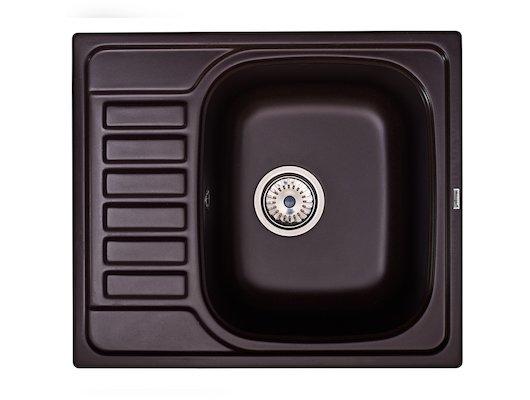 Кухонная мойка Weissgauff ASCOT 575 Eco Granit шоколад