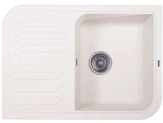 Кухонная мойка Weissgauff SOFTLINE 695 Eco Granit белый