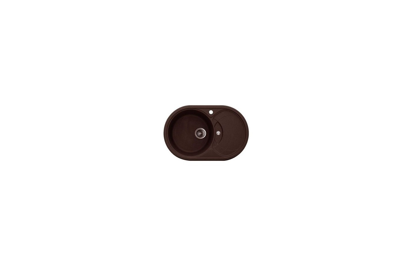Кухонная мойка Weissgauff ASCOT 780 Eco Granit шоколад
