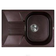 Фото Кухонная мойка Weissgauff CLASSIC 695 Eco Granit шоколад