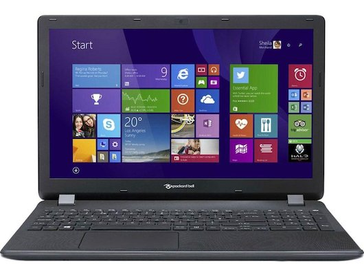 Ноутбук Packard Bell ENTG81BA-C9PG /NX.C3YER.023/ intel N3050/4Gb/500Gb/15.6/WiFi/Win10