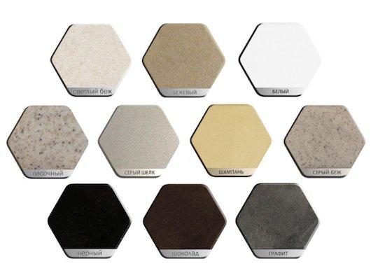 Смеситель Weissgauff Fobos granit R шоколад
