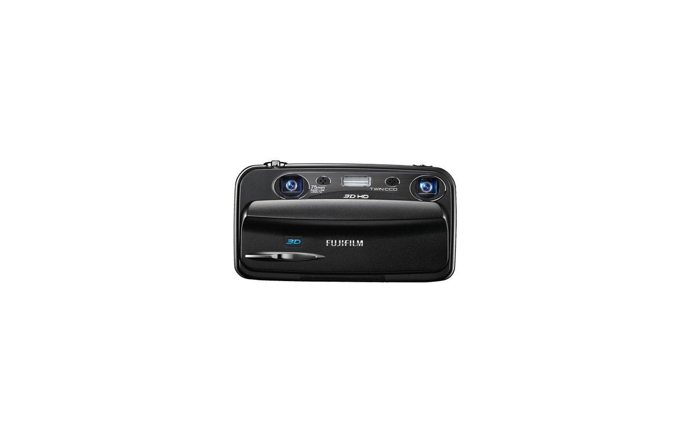 Фотоаппарат компактный FUJIFILM FinePix REAL 3D W3 черный