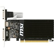 Фото Видеокарта MSI PCI-E GT 710 1GD3H LP nVidia GeForce GT 710 1024Mb 64bit Ret low profile