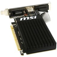 Фото Видеокарта MSI PCI-E GT 710 2GD3H LP nVidia GeForce GT 710 2048Mb 64bit Ret low profile