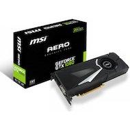 Фото Видеокарта MSI PCI-E GTX 1080 AERO 8G OC nVidia GeForce GTX 1080 8192Mb 256bit Ret