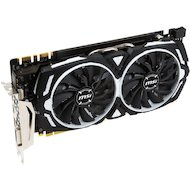 Фото Видеокарта MSI PCI-E GTX 1070 ARMOR 8G OC nVidia GeForce GTX 1070 8192Mb 256bit Ret