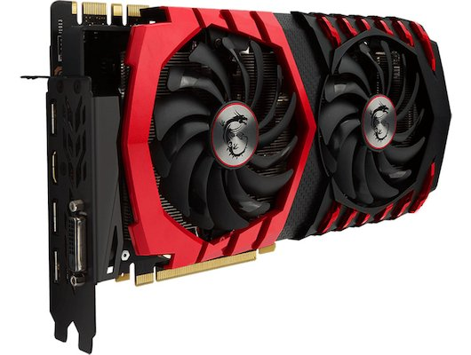 Видеокарта MSI PCI-E GTX 1070 GAMING X 8G nVidia GeForce GTX 1070 8192Mb 256bit Ret