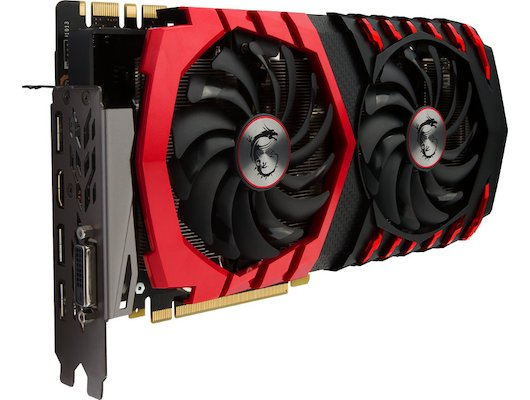 Видеокарта MSI PCI-E GTX 1070 GAMING Z 8G nVidia GeForce GTX 1070 8192Mb 256bit Ret