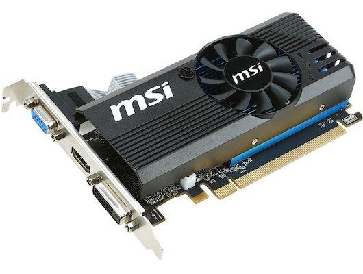 Видеокарта MSI PCI-E R7 240 2GD3 LPV2 AMD Radeon R7 240 2048Mb 128bit Ret low profile