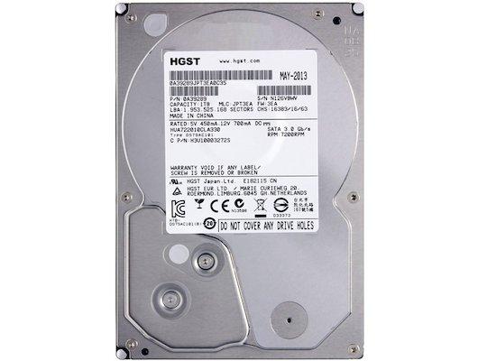 """Жесткий диск HGST SATA-II 1Tb HUA722010CLA330 Ultrastar A7K2000 (7200rpm) 32Mb 3.5"""""""