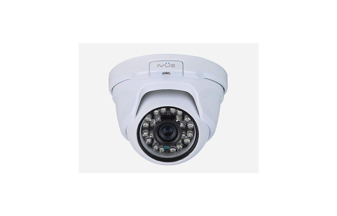 IP Видеокамеры iVue-IPC-OD20V2812-30PLLАнтивандальная купольная IP камера 2.0Mpx