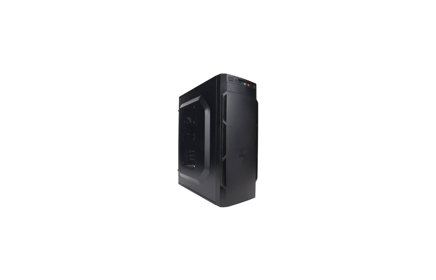 Корпус Zalman ZM-T1 черный w/o PSU mATX 1x80mm 3x120mm 1xUSB2.0 1xUSB3.0 audio bott PSU