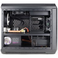 Фото Корпус Zalman ZM-M1 черный w/o PSU miniITX 2x120mm 1x140mm 2xUSB3.0 audio bott PSU