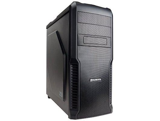 Корпус Zalman Z3 черный w/o PSU ATX 1x120mm 2xUSB2.0 1xUSB3.0 audio bott PSU