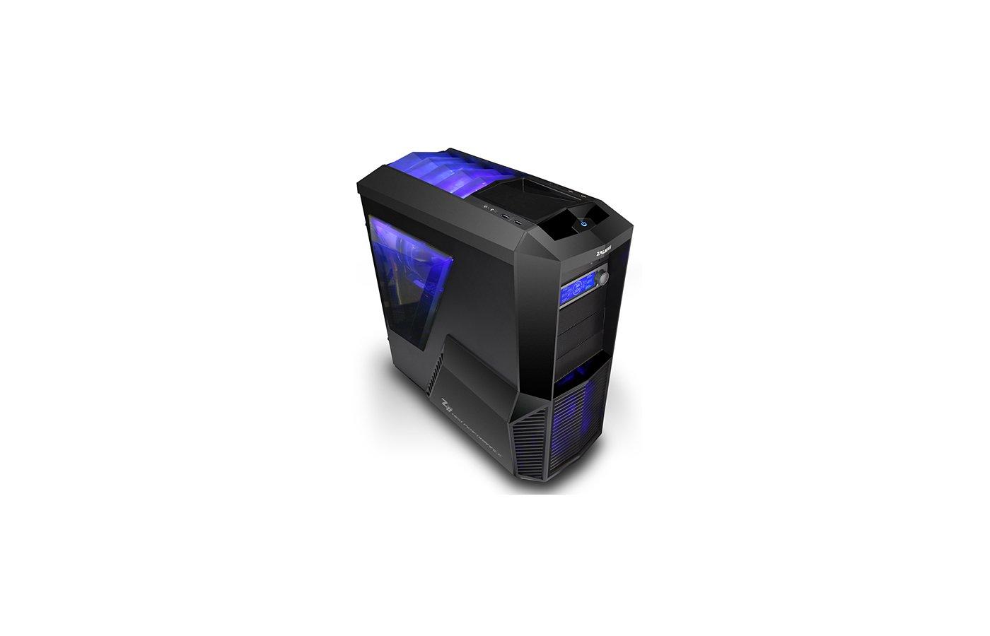 Корпус Zalman Z11 PLUS черный w/o PSU ATX 2x120mm 2x140mm 2xUSB2.0 2xUSB3.0 audio bott PSU