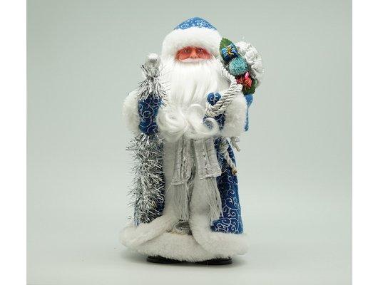 Сувенир ЯРКИЙ ПРАЗДНИК 16570 Дед мороз 30см синий
