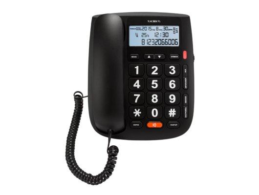 Проводной телефон TeXet TX-260 черный