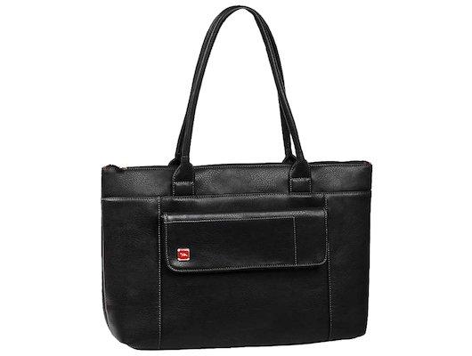 """Кейс для ноутбука Riva 8991 15.6"""" черный искусственная кожа женский дизайн"""