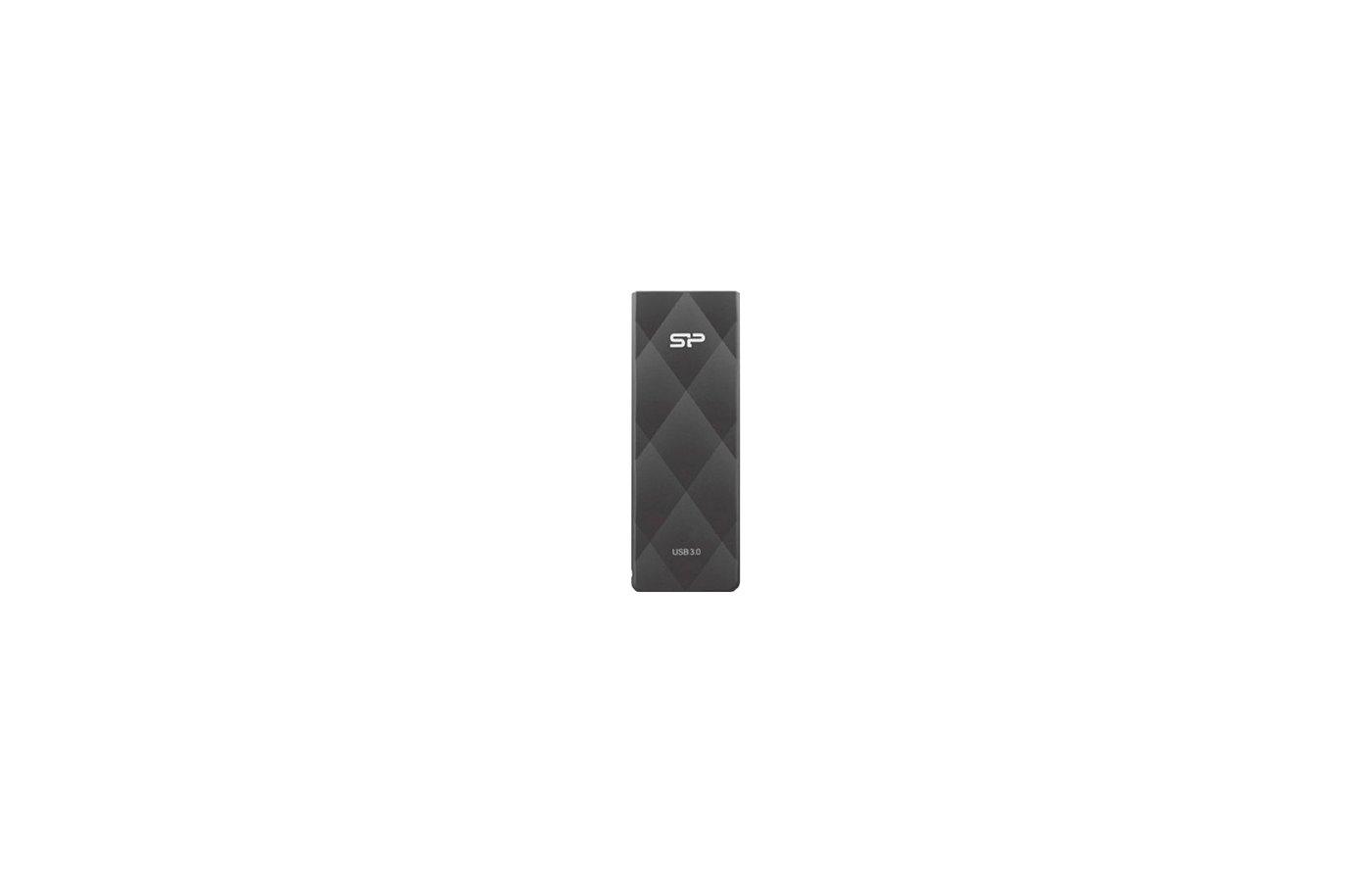 Флеш-диск USB 3.0 8GB Silicon Power Blaze B20 Black