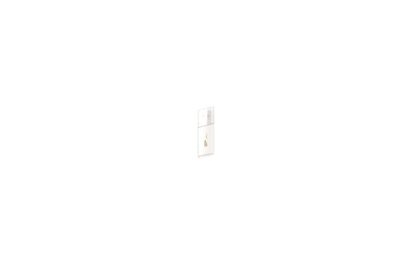 Флеш-диск USB 3.0 Флеш-накопитель 32GB Silicon Power Blaze B06 White