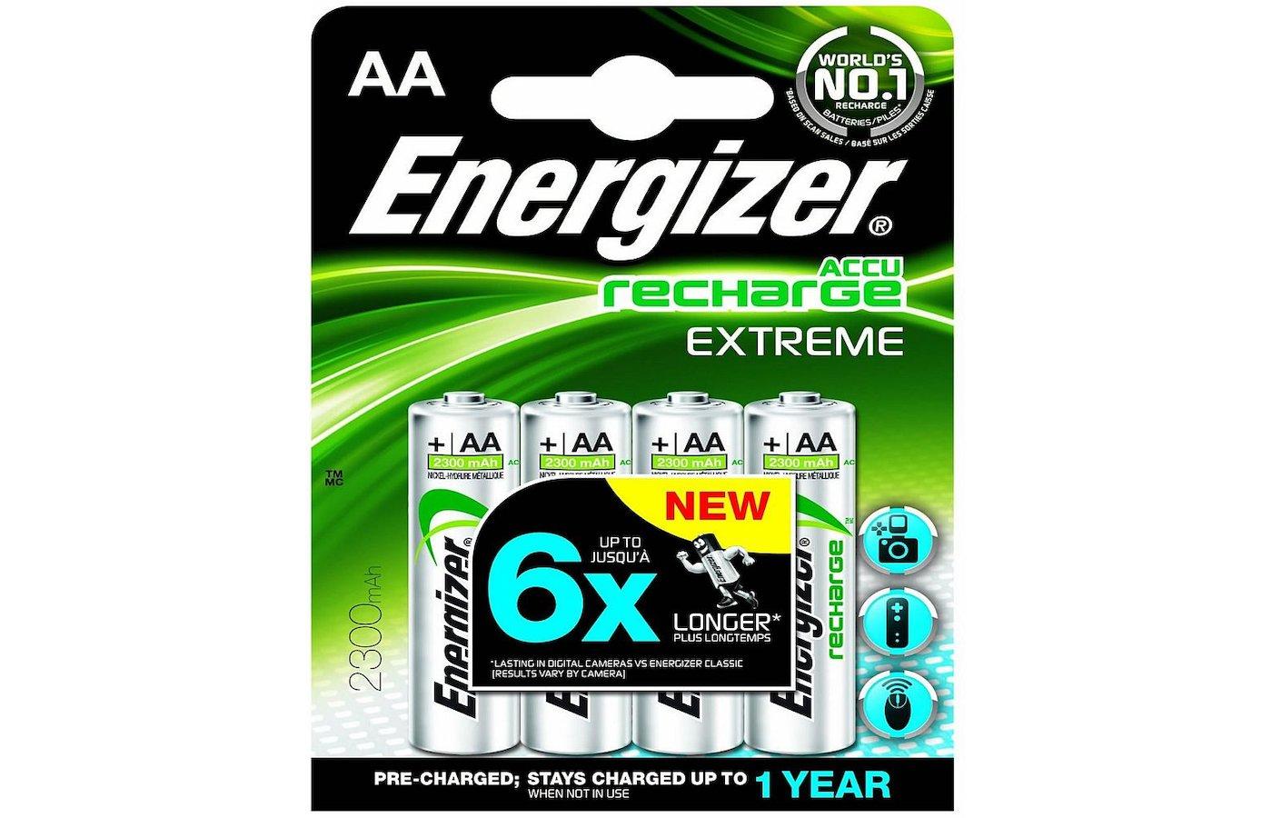 Аккумулятор Energizer /R6 2300mAh BL4