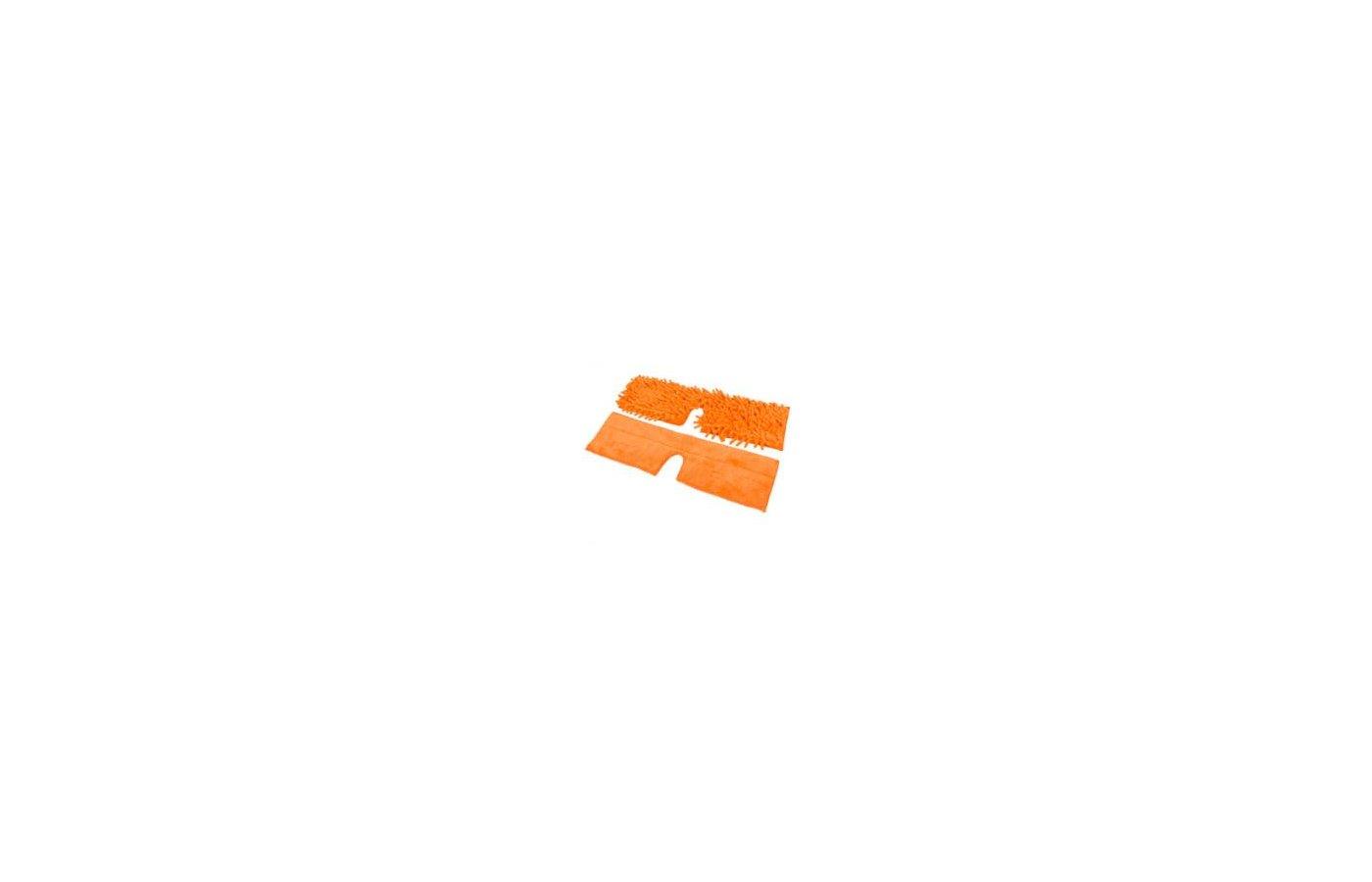 Инвентарь для уборки РЫЖИЙ КОТ MopM5-H Комплект насадок для швабры из микрофибры Универсальная