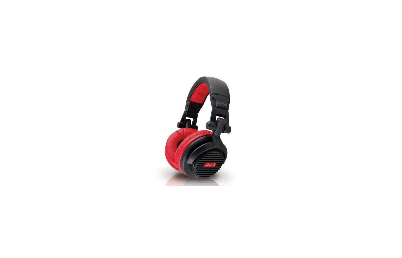 Наушники вкладыши HP-A65 BLACK-RED DIALOG