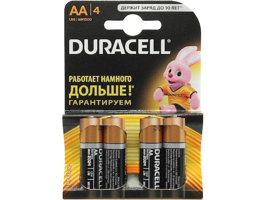 Батарейка Duracell LR6 BL4/6/8/12/18