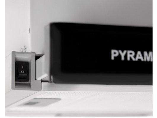 Вытяжка PYRAMIDA TL 60 FG IX BL