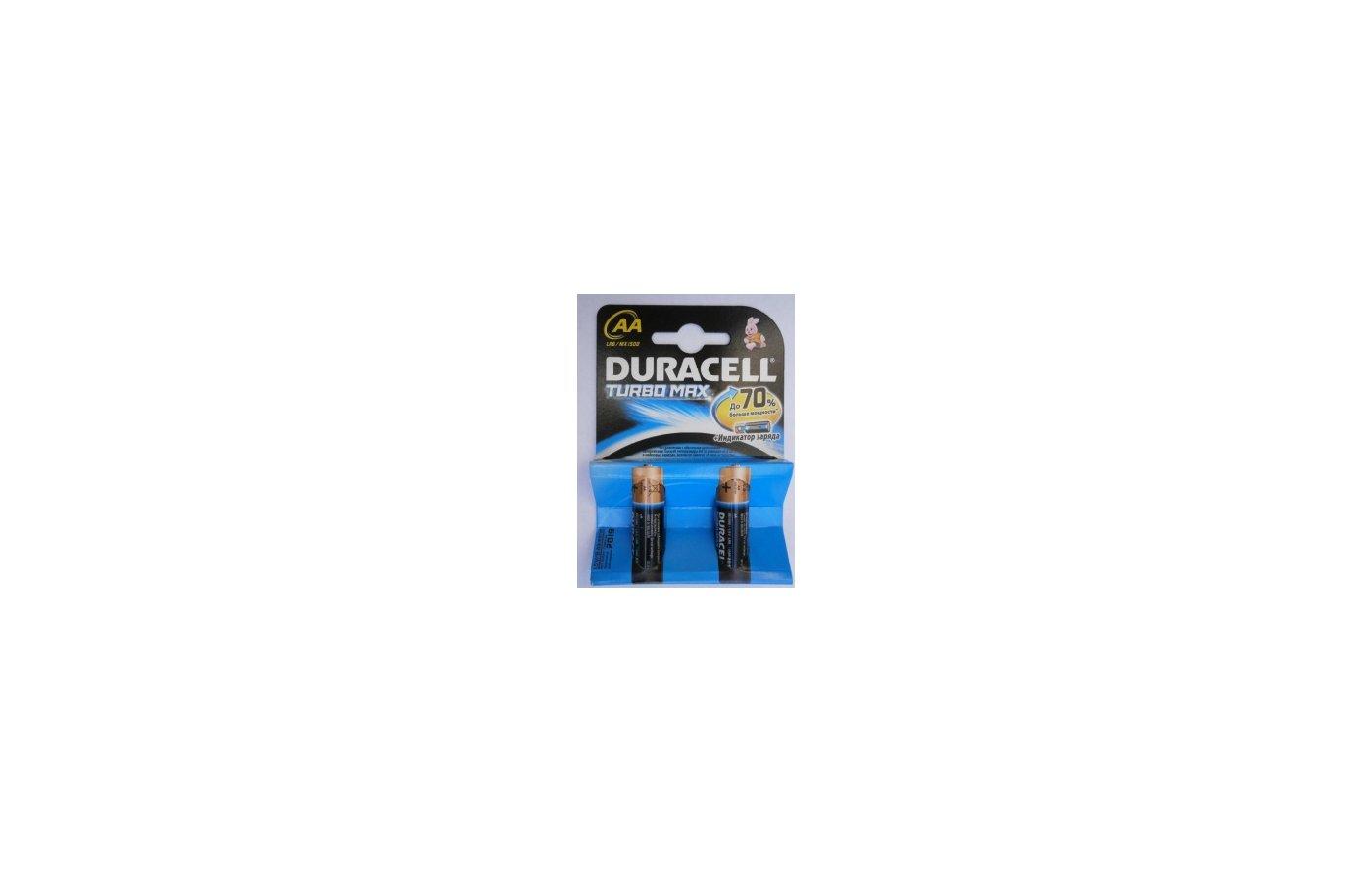Батарейка Duracell LR6 Turbo BL2/4/8/12