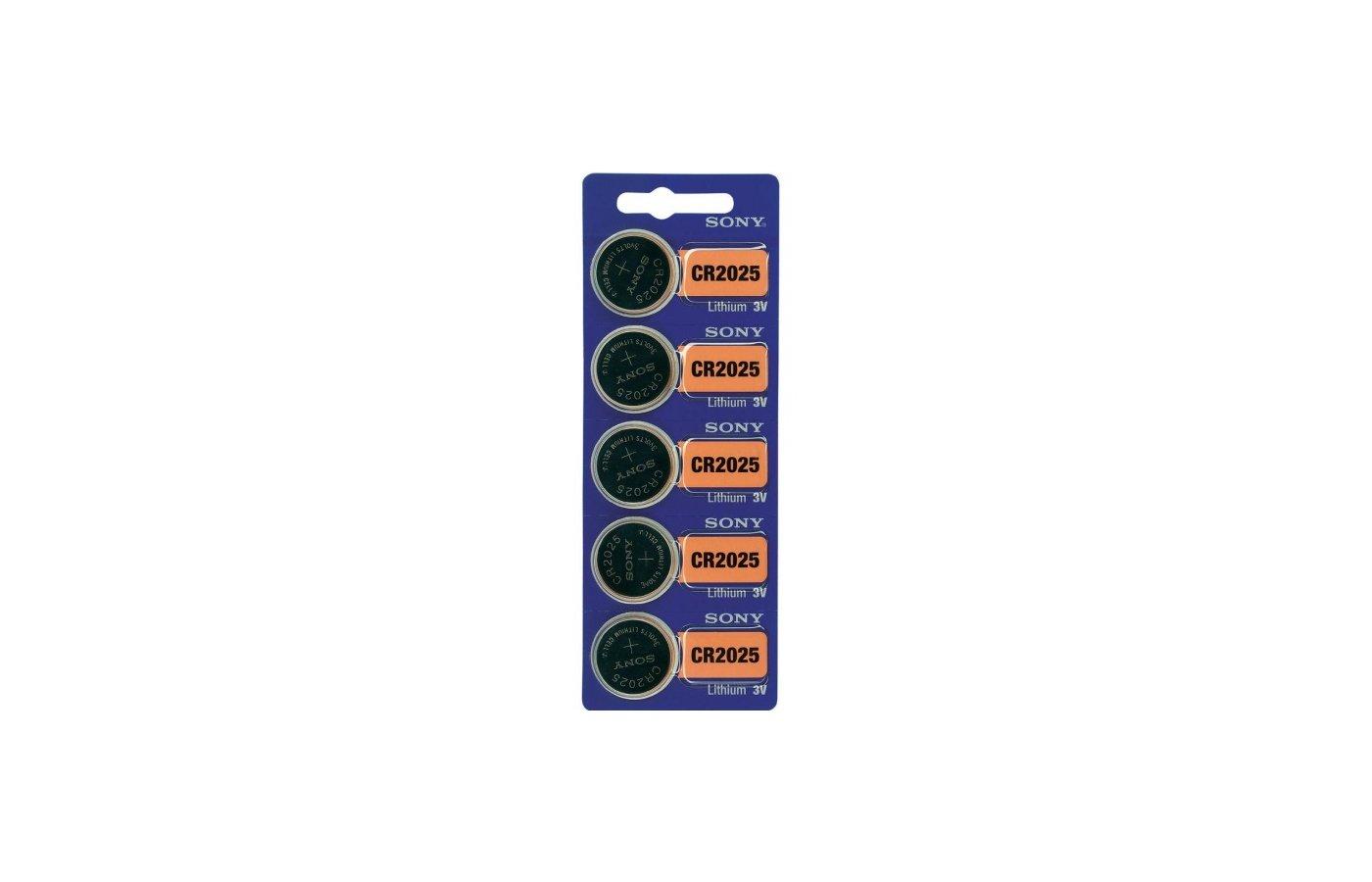 Батарейка Sony CR2025 BL5