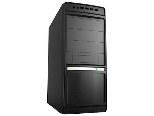 Корпус LinkWorld 316-24 черный без БП ATX 2xUSB2.0 audio