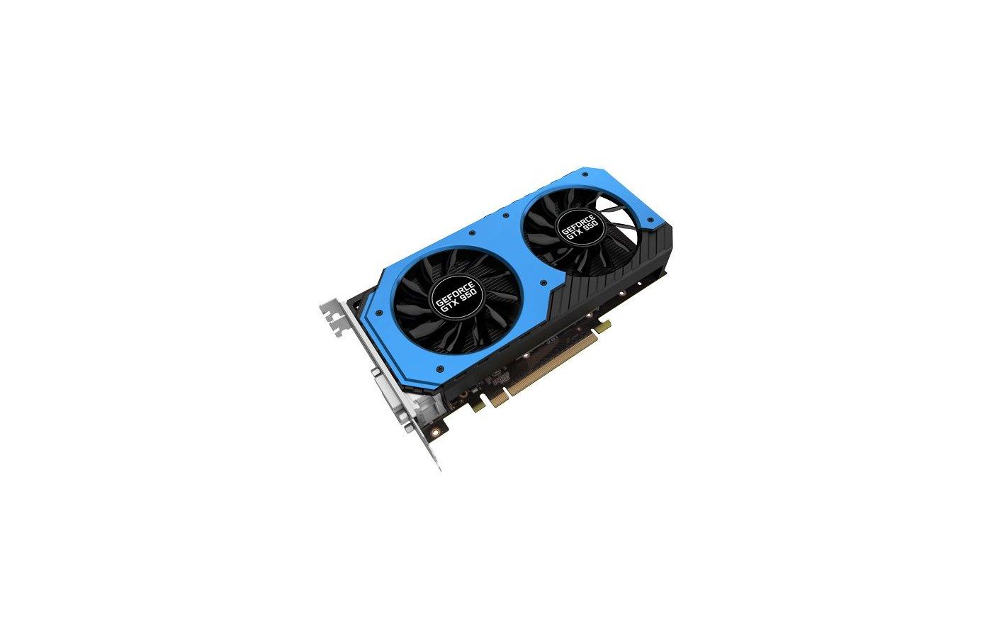 Видеокарта Palit PCI-E PA-GTX950 StormX Dual 2G nVidia GeForce GTX 950 2048Mb 128bit Ret