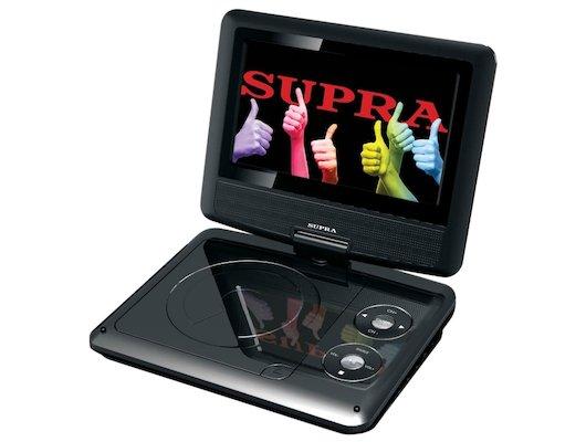 Портативный DVD SUPRA SDTV-716U black