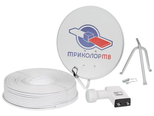 Спутниковое ТВ Триколор Антенна+Конвертер