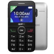 Мобильный телефон Alcatel 2008G Black/Metal Silver