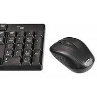 Фото Клавиатура + мышь Oklick 210M черный беспроводной