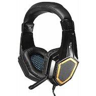 Наушники с микрофоном проводные Oklick Guardian HS-L310G черный 1.5м (LPS-1530)