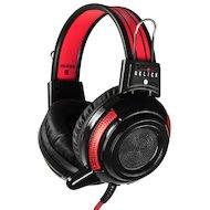 Наушники с микрофоном проводные Oklick HS-G300 черный/красный 2.5м (AH-V1)