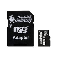 Фото Карта памяти SmartBuy microSDXC 128Gb Class 10
