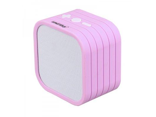 Колонка Smartbuy TEDDY бело-розовая